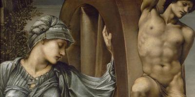 Edward Burne-Jones: «Lykkens hjul / The Wheel of Fortune» (1875)   Eier: Musée d'Orsay, Paris